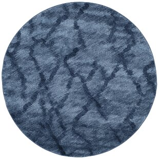 Tenth Avenue Dark Blue Area Rug by Wrought Studio