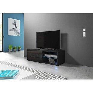 Liberal Best Matte Body High Gloss Doors TV Stand For TVs Up To 44 Orren Ellis