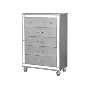 Schumacher 5 Drawer Chest by Mercer41 No Copoun