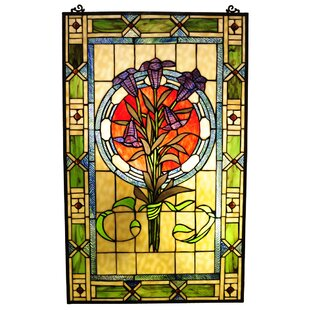 Beley Tulips Window Panel
