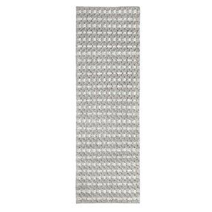 Pebbles Hand-Woven Gray Indoor/Outdoor Area Rug