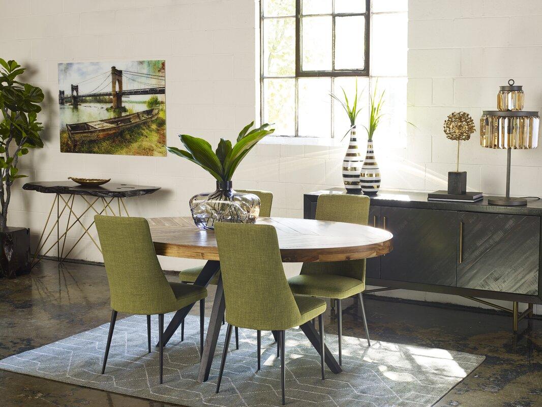 Union Rustic Serita Oval Dining Table & Reviews   Wayfair