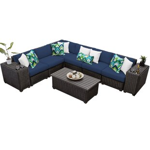 Fairfield 9 Piece Sectional Seating Group with Cushions