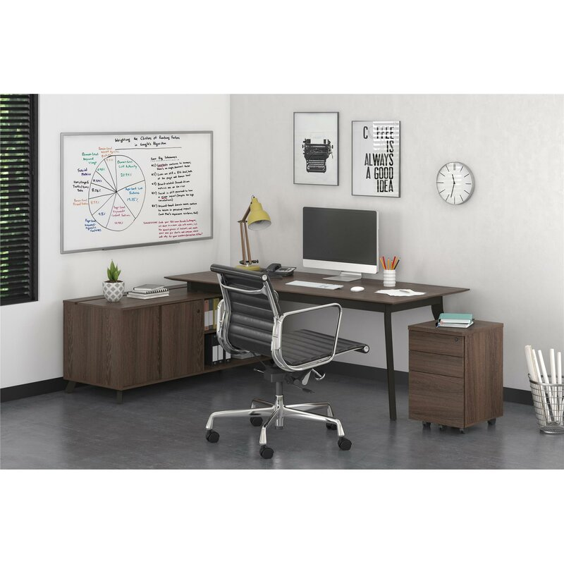 Comm Office Holmes Desk Credenza And Storage Cabinet Set Reviews Wayfair