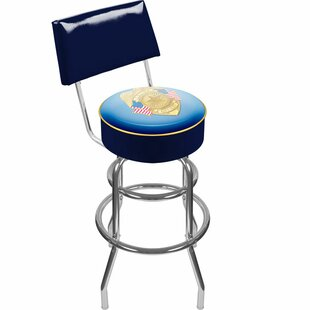 Police Officer 31 Swivel Bar Stool