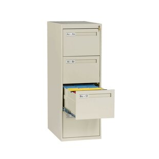 4-Drawer Vertical Filing Cabinet by Tennsco Corp. Best #1