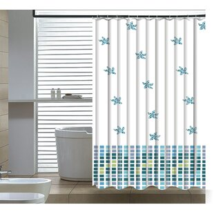 Elegantly Abstract Shower Curtain ByEast Urban Home