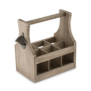 Wood Bottle Caddy