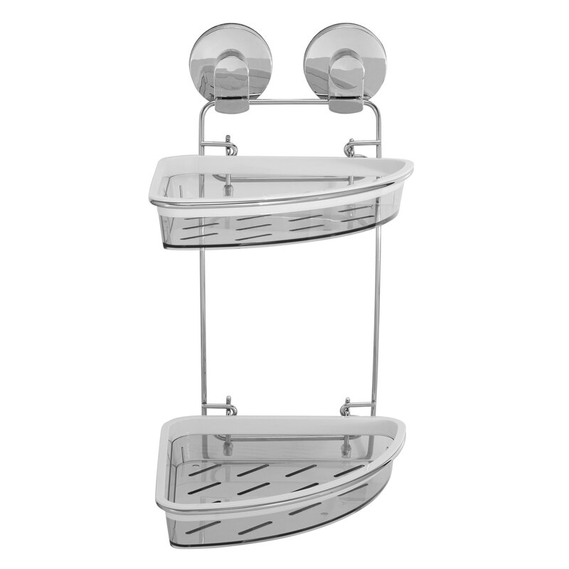 Everloc Xpressions Double Corner Shower Caddy & Reviews | Wayfair
