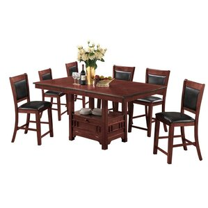 D'or 7 Piece Dining Set by World Menagerie