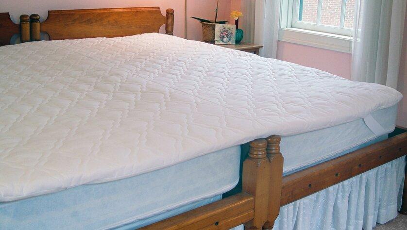 mattress topper king. the king maker 1.6\ mattress topper