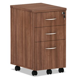 Alera Valencia Series Box Pedestal 3-Drawer Mobile Vertical Filing Cabinet by Tennsco Corp.