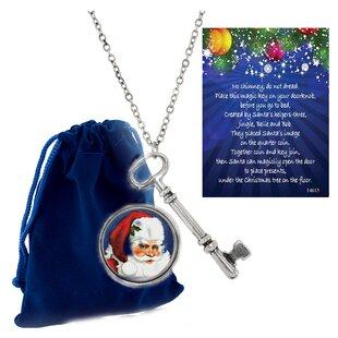 2 Piece Santa Washington Quarter and Magic Key by The Holiday Aisle