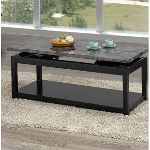 Champagne Lift Top Coffee Table