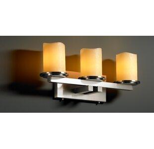 Inexpensive Wantage 3-Light Vanity Light By Loon Peak