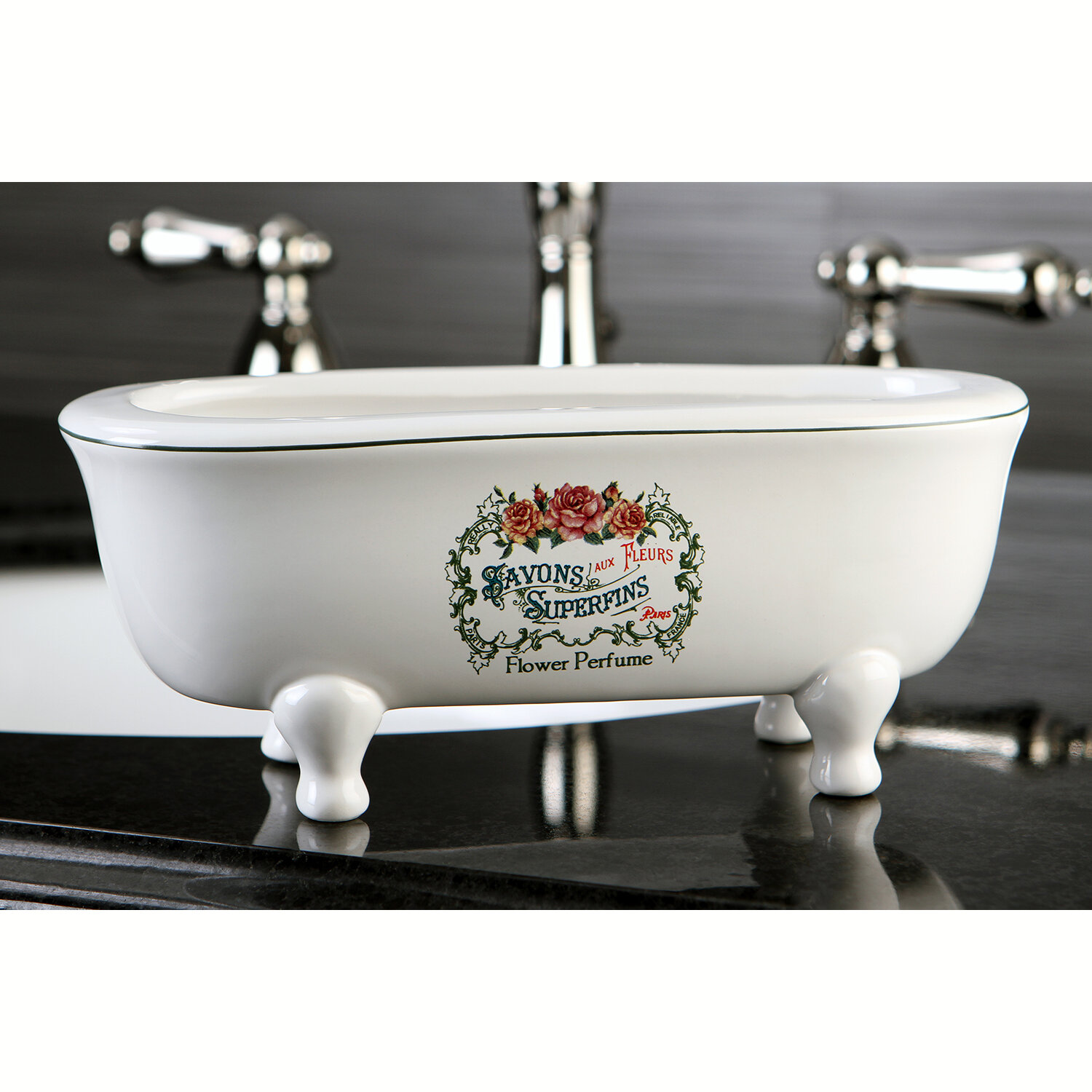 Kingston Brass Savons Superfins Aqua Eden Decorative Mini Bathtub ...