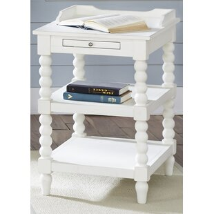 Compare prices Saguenay Chairside Table by Lark Manor