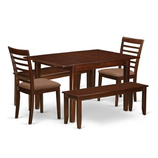 Lorelai 5 Piece Dining Set by Alcott Hill Wonderfult