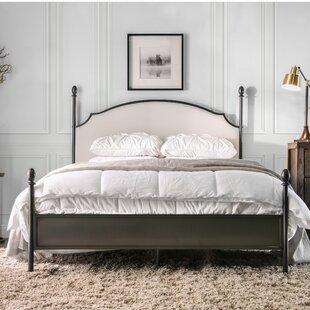 Granite Range Upholstered Four Poster Bed