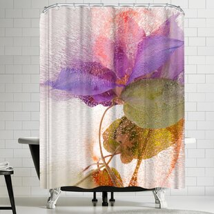 Zina Zinchik Entangled Single Shower Curtain by East Urban Home Best Design