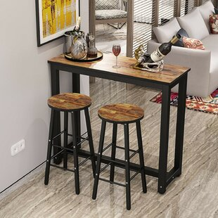 Plainfield 3 Piece Pub Table Set