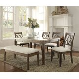Demoss 6 Pieces Dining Set by Gracie Oaks
