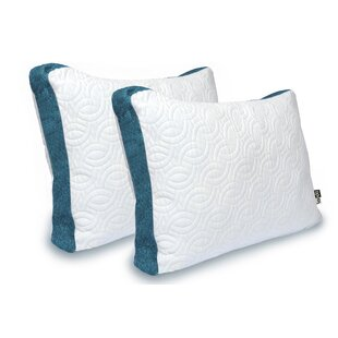 Comfy Cool Memory Foam Standard Pillow (Set of 2)