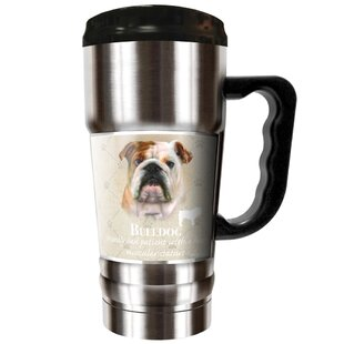 Howard Robinson's Bulldog 20 Oz. Stainless Steel Travel Tumbler by Great American Products #1