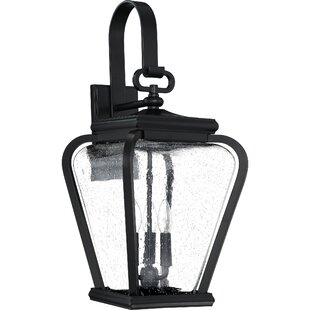 Check Prices James 3-Light Outdoor Wall Lantern By Red Barrel Studio