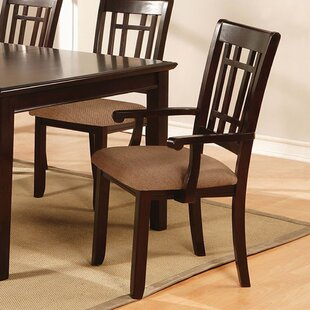 Mahe Transitional Solid Wood Dining Chair (Set of 2) Red Barrel Studio