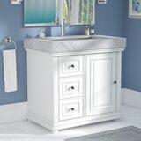 "Bairdstown Contemporary 36"" Single Bathroom Vanity Set"