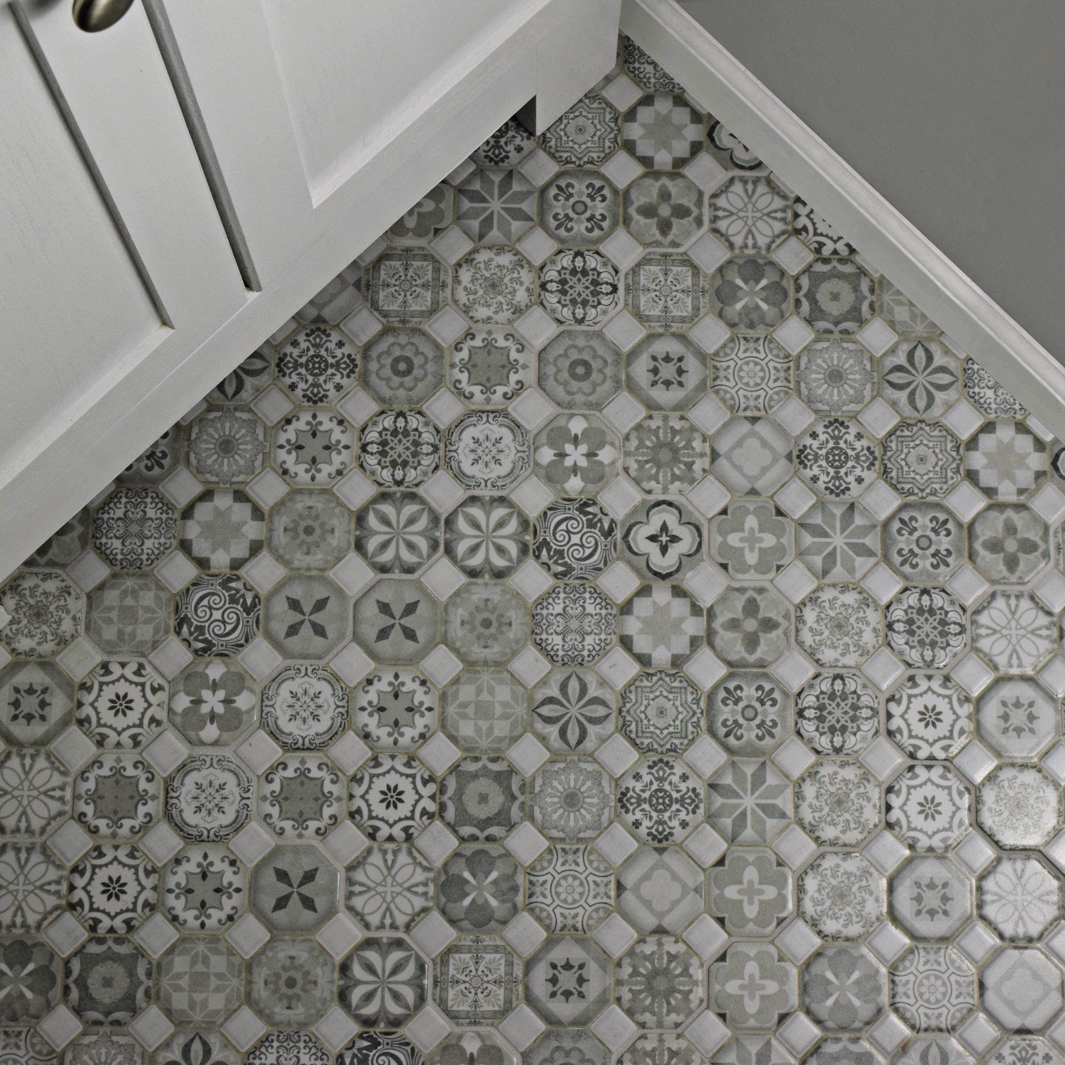 Elitetile edredon 1225 x 1225 ceramic tile in gray wayfair dailygadgetfo Image collections