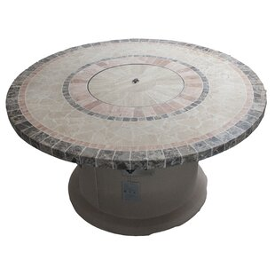 Designer Series Stone Propane Fire Pit Table