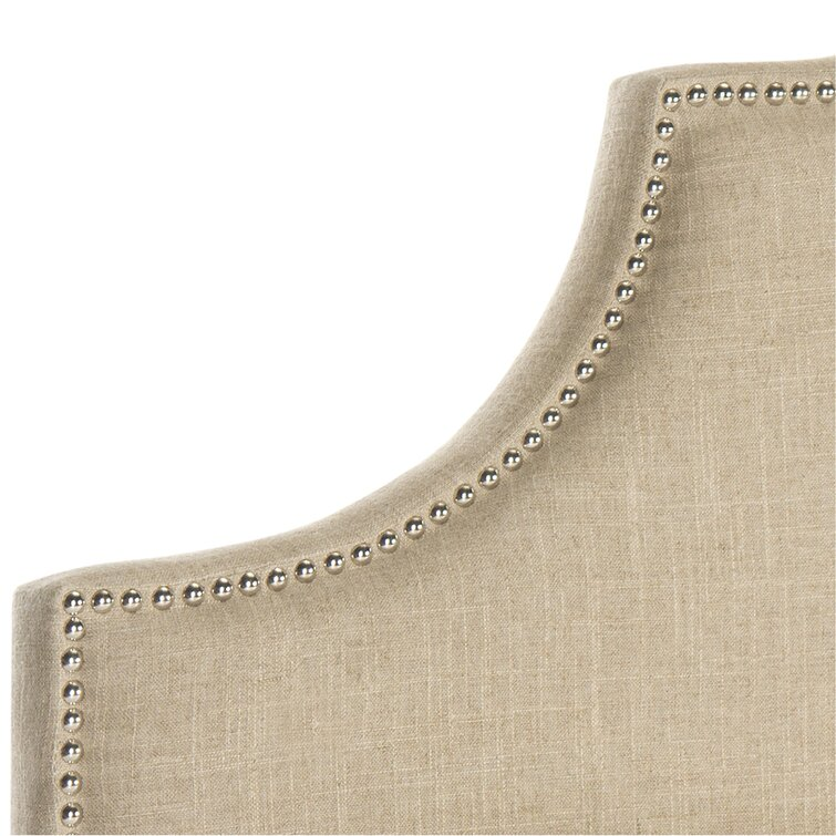 Caswell Upholstered Metal Panel Headboard