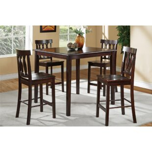 Malik 5 Piece Counter Height Dining Set A&J Homes Studio