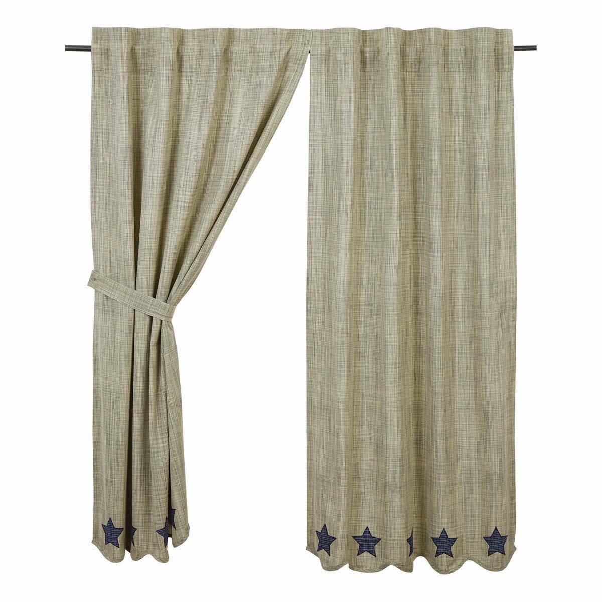 Victoria Curtain Panels Set Of 2