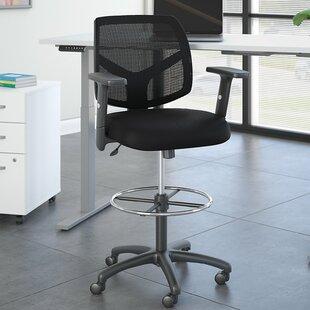 Petite Back Drafting Ergonomic Mesh Task Chair
