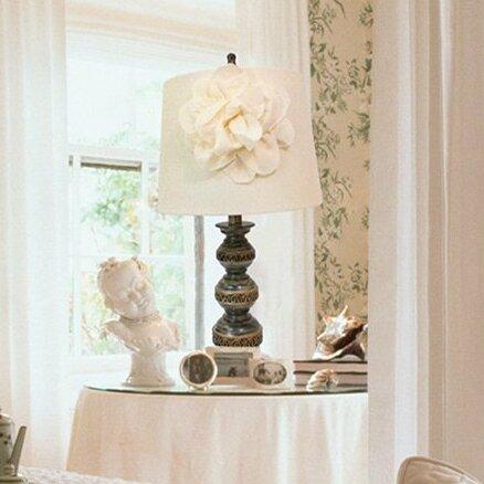 Astoria Grand Zavala Stacked Ball 26 Table Lamp Reviews Wayfair