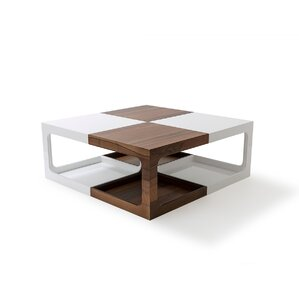 Coffee Table with Magazine Rac..