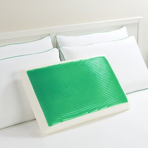 Wave Bed Memory Foam Standard Pillow b..
