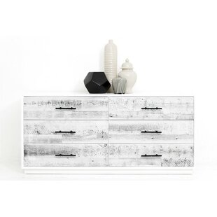 Cody 6 Drawer Double Dresser by ModShop Great price