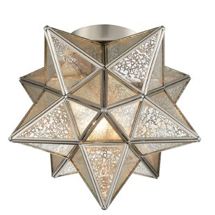 Perera Moravian Star 1 Light Flush Mount