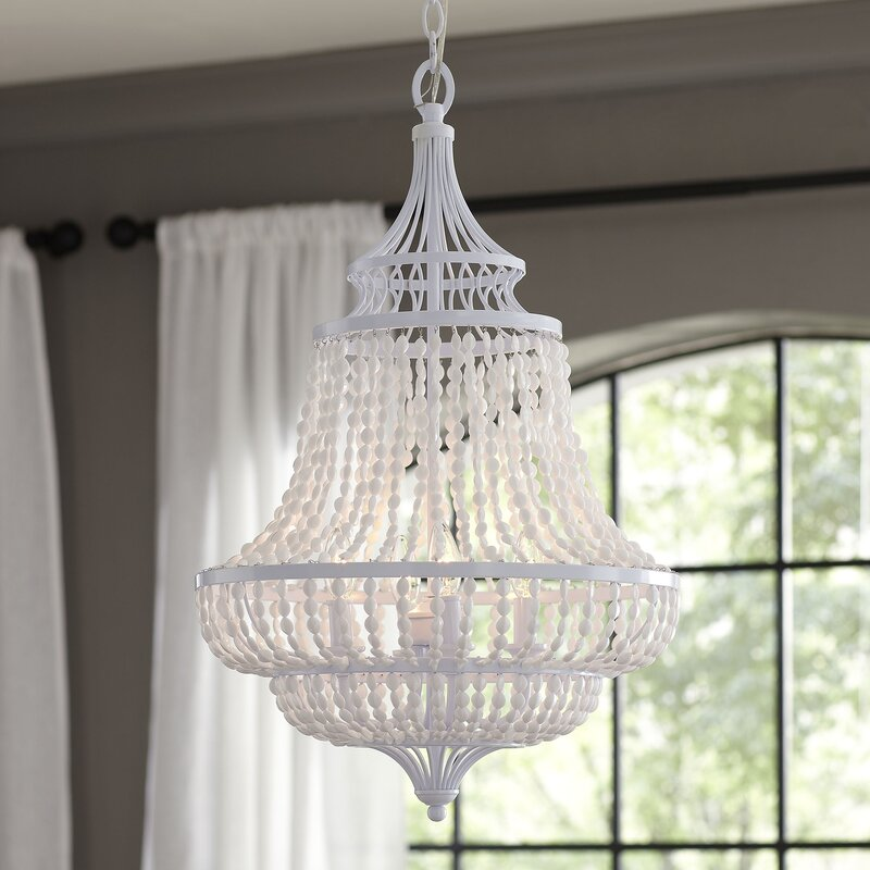 Fanning 4 light empire chandelier reviews birch lane fanning 4 light empire chandelier aloadofball Gallery