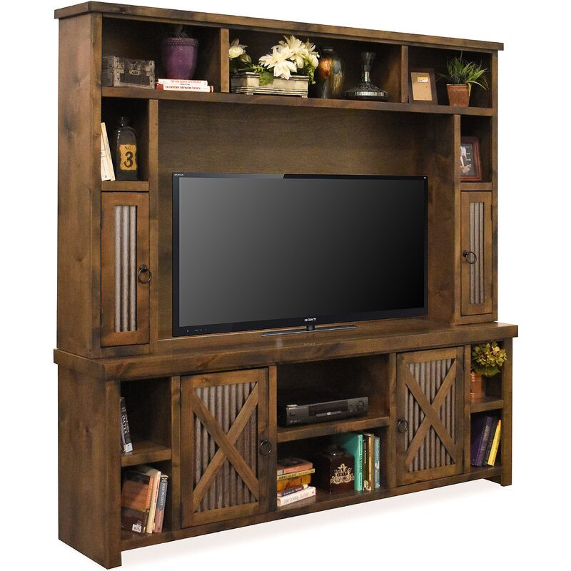 Bettie Solid Wood Entertainment Center