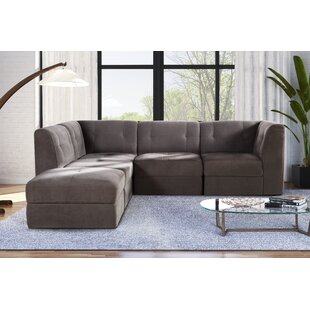 Alecia 5 Piece Modular Sectional