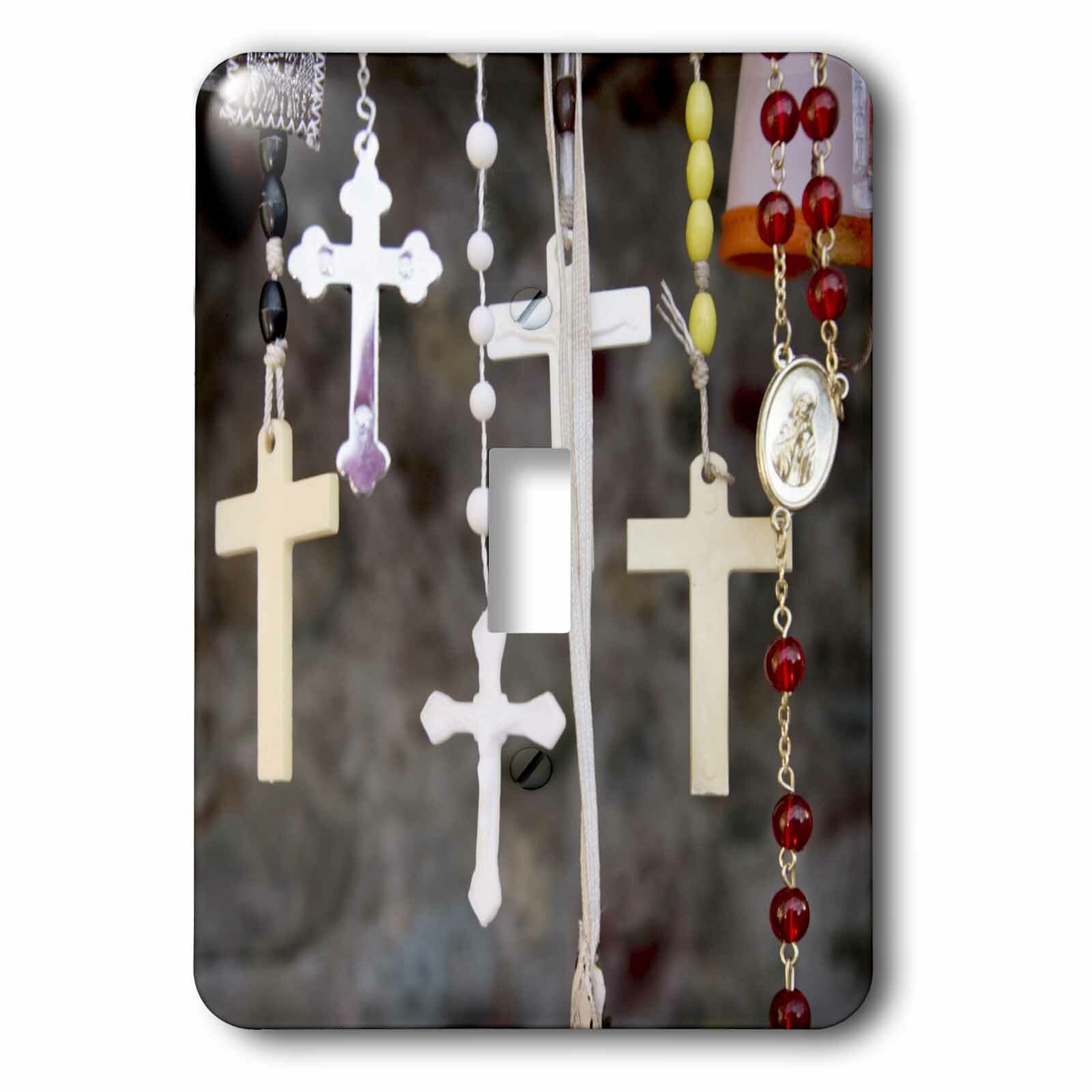 3drose Rosaries Christianity 1 Gang Toggle Light Switch Wall Plate Wayfair