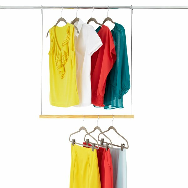 Delicieux Double Hang Closet Rod Hanging Organizer