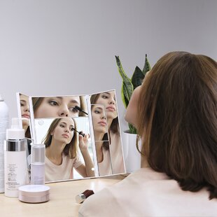 Shopping for Continuum LED Lighted Makeup Mirror By Symple Stuff