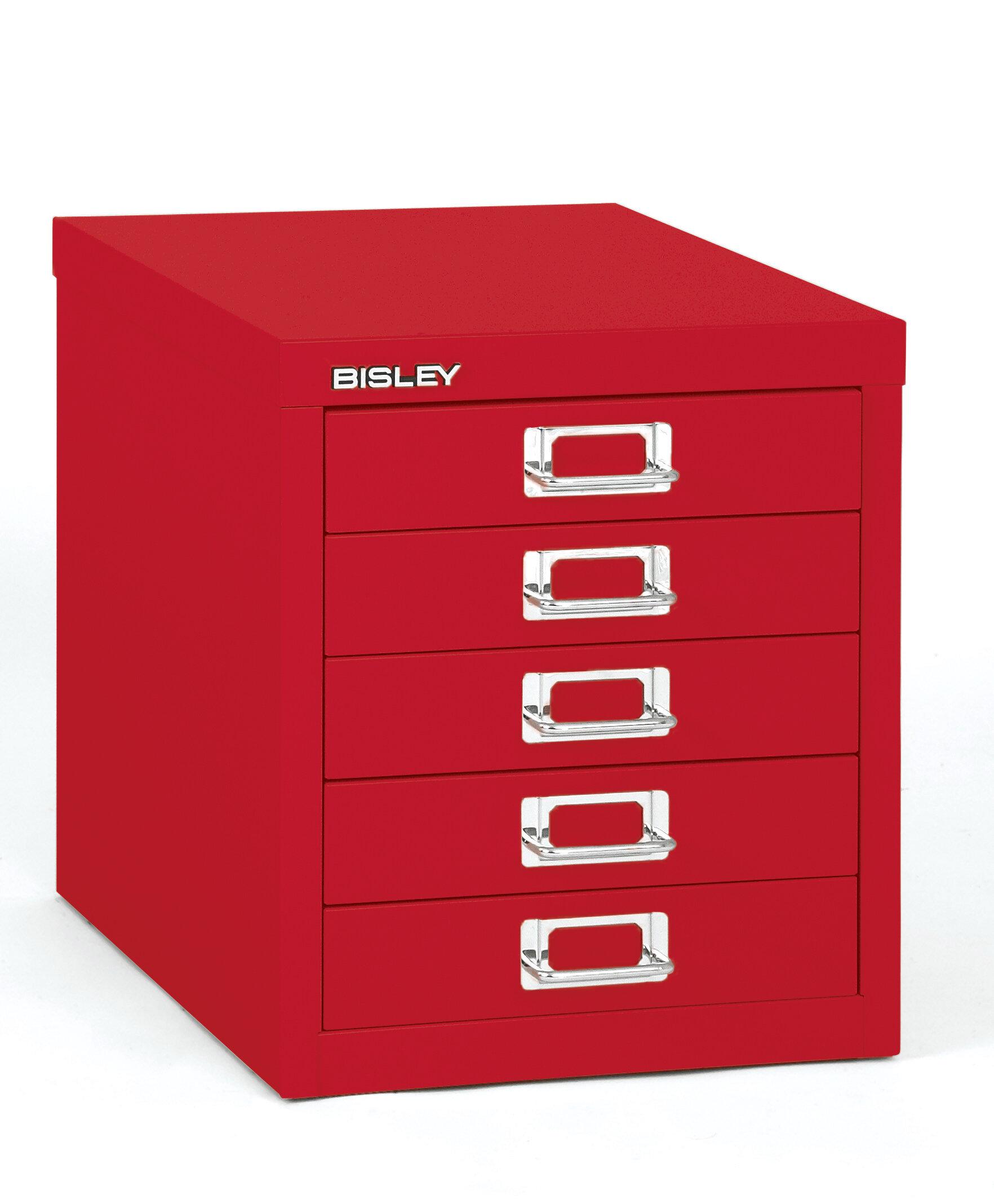 Bisley 5 Drawer Vertical Filing Cabinet | Wayfair