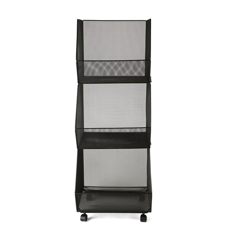3 tier stacking rolling stacking storage bin - Stackable Storage Bins
